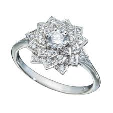 snowflake engagement ring diamond engagement rings by style christopher duquet