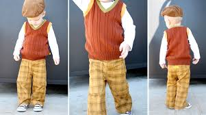 sweater vest for boys diy boy s sweater vest from a s sweater the go green