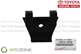 what does lexus factory warranty cover genuine lexus toyota bumper cover retainer oem 53879 30040 ebay