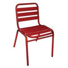 Aluminium Bistro Chairs with 4 X Stacking Aluminium Side Chairs White Bolero Indoor