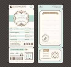 postcard wedding invitations template free vector download 15 140