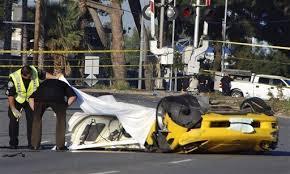 corvette car crash crash of speeding corvette kills 4 in california the san diego