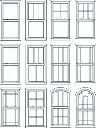 window styles double hung window double hung windows operate by sliding either of