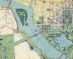 Washington Dc Maps Washington D C 1942 Map Aaroads