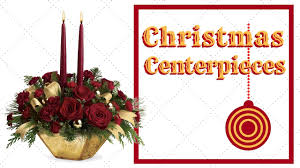 christmas flowers centerpieces youtube