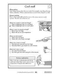 1st grade 2nd grade kindergarten science worksheets cool stuff