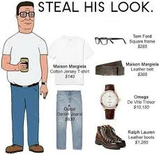 King Of The Hill Meme - steal his look hank hill meme guy