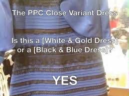 Dress Meme - ppc white and gold dress meme
