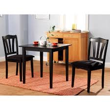3 piece living room table sets dining room black walmart dining chairs with simple dining table