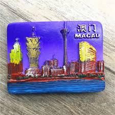 Georgia Travel Gift Ideas images Macau china travel tourism souvenir 3d resin fridge magnet home jpg