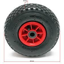 chambre a air diable lot 2 roue complète brouette diable chariot 3 00 4 ht2046 jante pneu