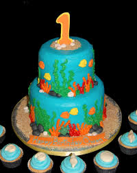 under the sea themed cake ideas for a finding dory themed birthday