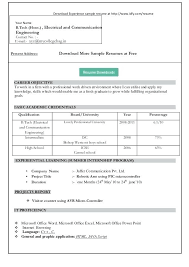 sle resume format download in ms word 2007 pleasant latest resume format download in ms word 2007 for your