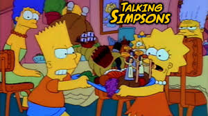 talking simpsons bart vs thanksgiving laser time