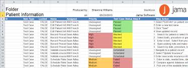 Testing Template Excel Jama User Guide