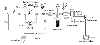 coupling microwave assisted drying and supercritical carbon