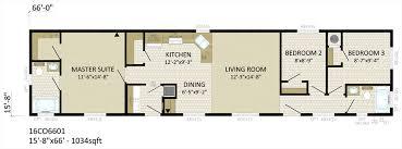 4 Bedroom Single Wide Floor Plans 16 U2032 Single Wide U2013 Blackstone Homes
