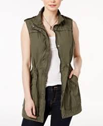 Womens Military Vest Womens Vests Macy U0027s
