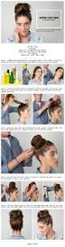 cute bun hair hairstyles buns projects to try pinterest