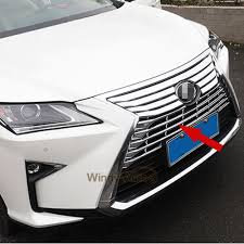 lexus saudi arabia promotion fit for lexus rx350 rx450h 2016 2017 chrome abs car front grill