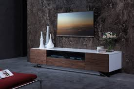White Gloss Furniture Walnut And White Gloss Tv Stand Base For Lcd Los Angeles