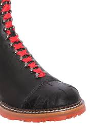 Jual Wedges vivienne westwood smooth leather bowling style boots black