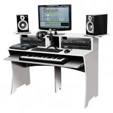 studio workstation desks 223242 glorious dj workbench studio desk 223242 white at westend
