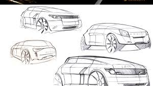 range rover sketch did i design the range rover evoque