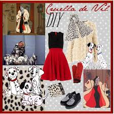 Cruella Vil Halloween Costumes Diy Halloween Costume Cruella Vil Polyvore