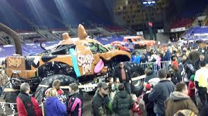 monster truck show houston 2015 01 31 2015 fargo nd monster jam pit party youtube