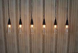 vintage style lighting string of cone lights