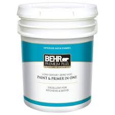 home depot 5 gallon interior paint behr premium plus 5 gal satin enamel interior paint 705005 the