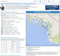 Hnl Airport Map Priceline Bidding U2013 Michael Likes