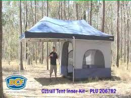 Oztrail Awning Review Oztrail Gazebo Tent Inner Kit Accessories Bcf Youtube