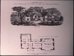 house old cottage house plans