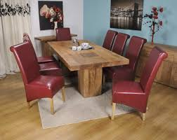 home design effie dining room set w red chairs acme furniture