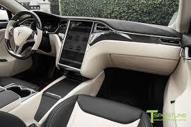 white bentley interior pearl white tesla model s 2 0 custom bentley linen and ferrari