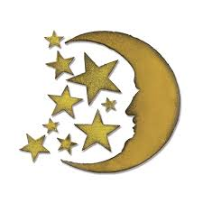 sizzix tim holtz crescent moon and bigz die