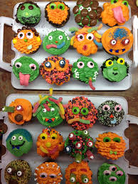 Monster Halloween Party Monster Cupcakes Epic Sweet