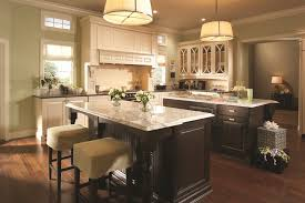 Kitchen Neutral Colors - dark stained kitchen cabinets kitchen traditional with eat in