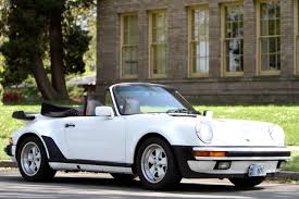 porsche whale tail 87 m491 wide body turbo look 911 cabriolet for sale