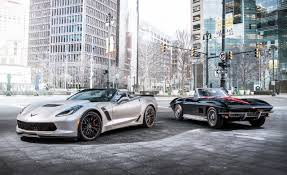 future corvette stingray 1967 chevrolet corvette sting ray 427 vs 2015 chevrolet corvette