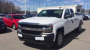 Chevrolet Silverado Work Truck - 2017 chevrolet silverado 1500 work truck summit white roy nichols