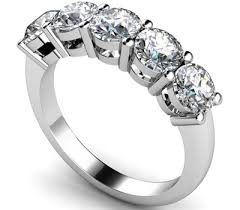 half eternity ring 5 diamond half eternity ring dhmt05102 diamond heaven