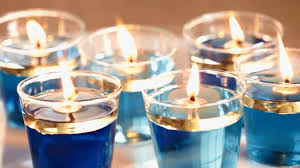 hanukkah decorations set the hanukkah table