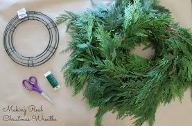 wonderfully made real wreaths