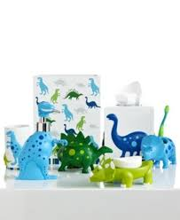 kids bathroom sets and accessories macys kassatex bath dino park