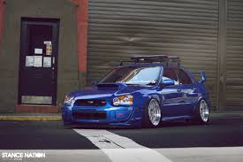 bugeye subaru stance stance nation dropped subaru impreza sti tremek car videos