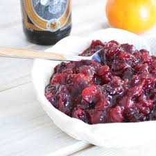 thanksgiving cranberry cranberry sauce