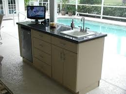 Kitchen Sinks Cabinets Outdoor Kitchen Sink Part U2014 Home Ideas Collection How To Clear